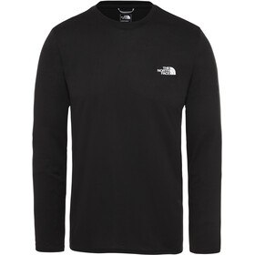 The North Face Reaxion Amp Langarm Rundhalsshirt Herren tnf black
